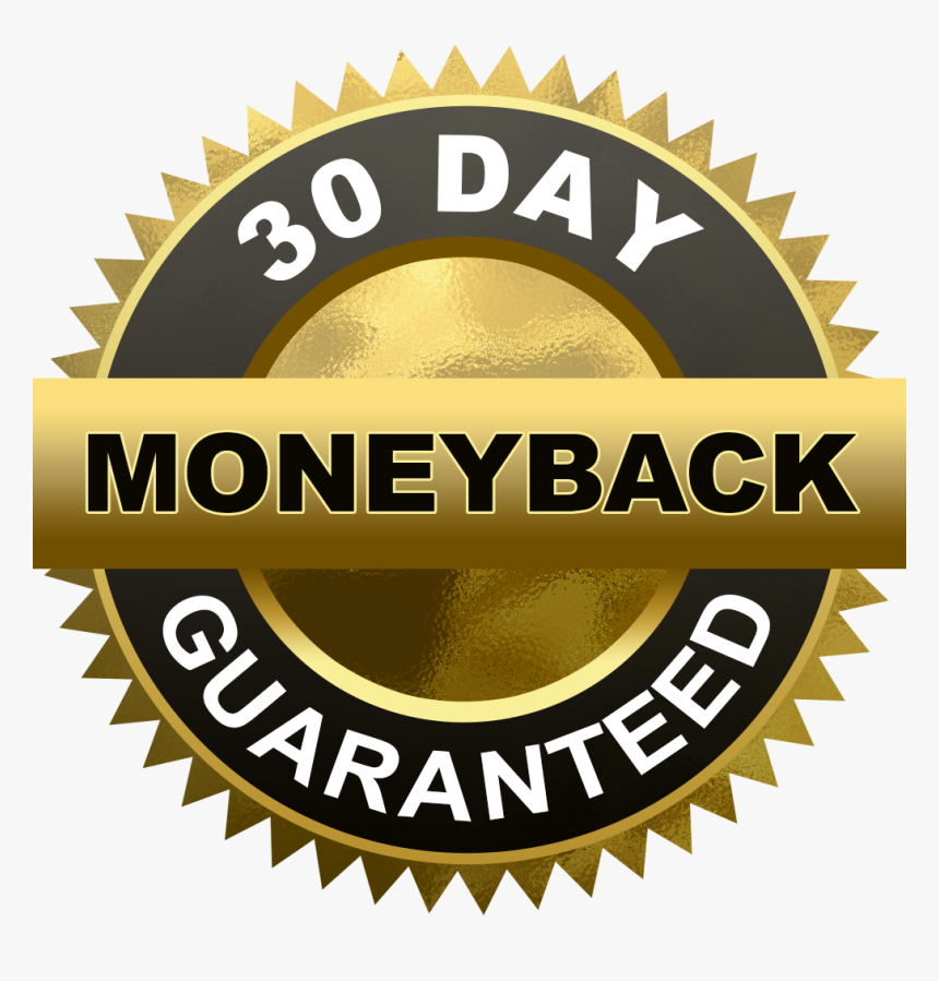 30 Day Money Back Guarantee Png, Transparent Png, Free Download