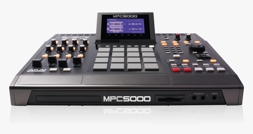 Mpc5000 Front - Akai Mpc 5000, HD Png Download, Free Download