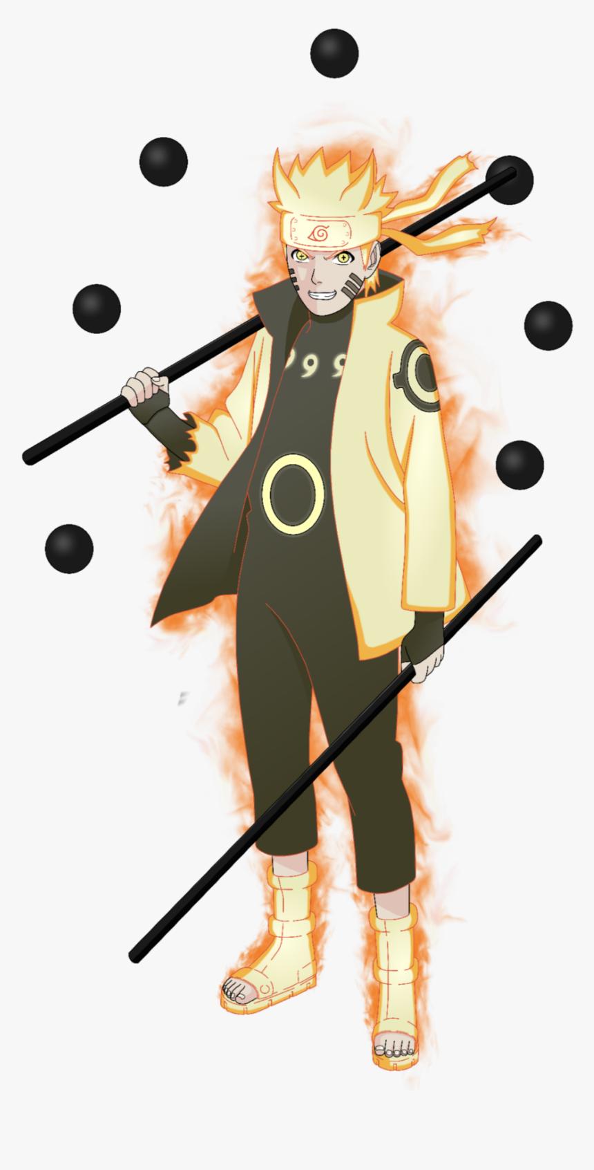 Naruto Shippuden Uzumaki Kurama Kyubi Chakra Naruto Uzumaki Chakra Mode Hd Png Download Kindpng