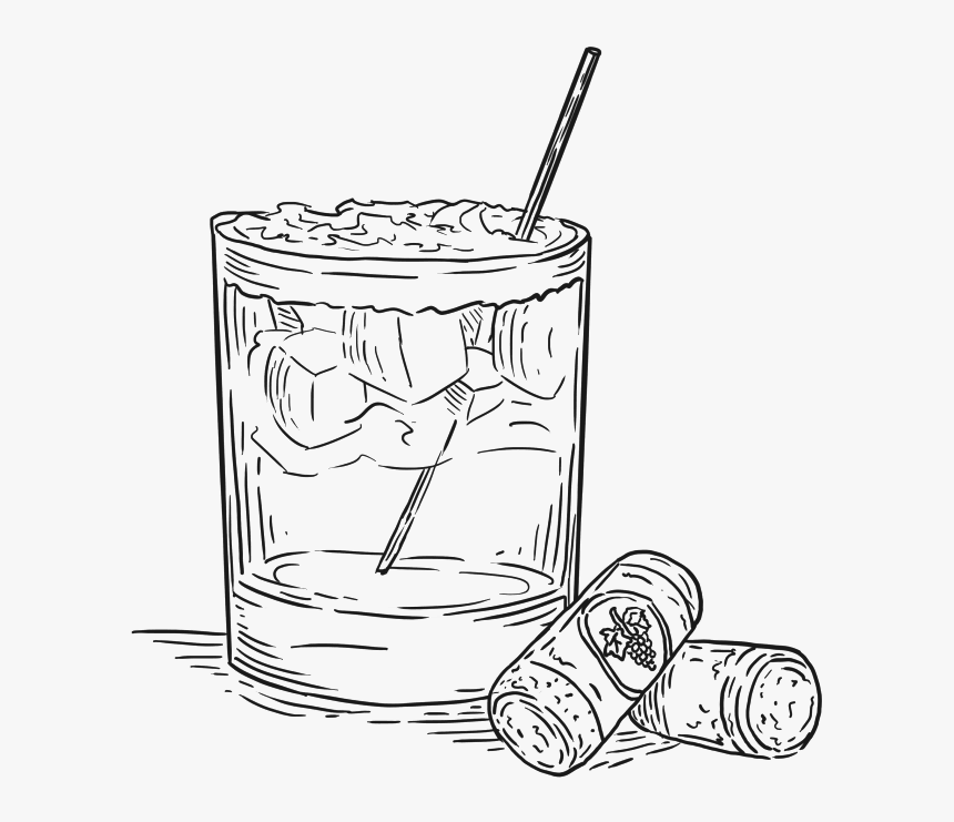 Image Result For Cocktail Drawing Cocktail No Background Hd Png Download Kindpng