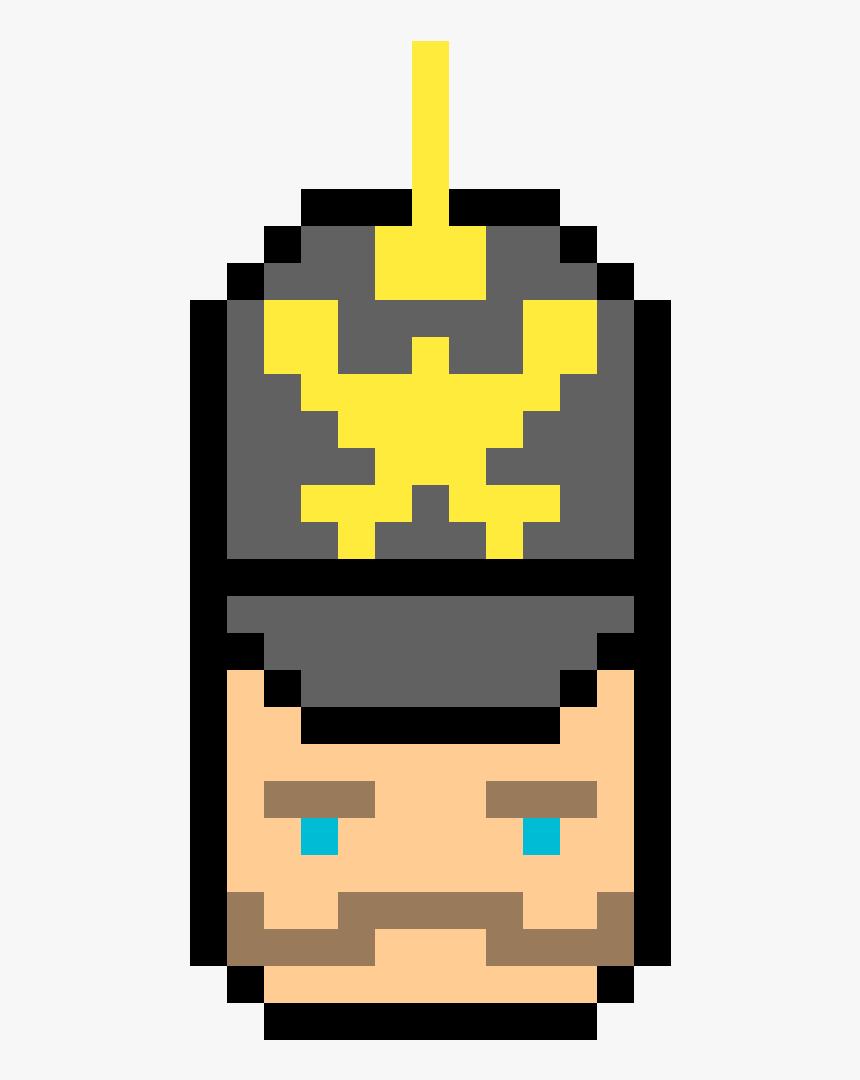 Pixel Art Man Face, HD Png Download, Free Download