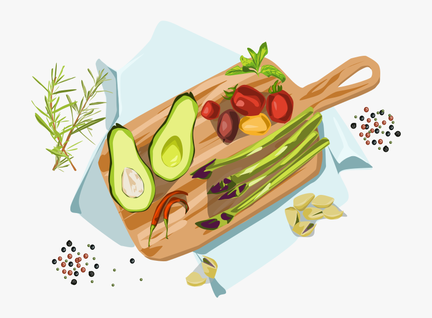 Food Plato Spices Fruits Vegetables Food Icon Vector - Legume, HD Png Download, Free Download