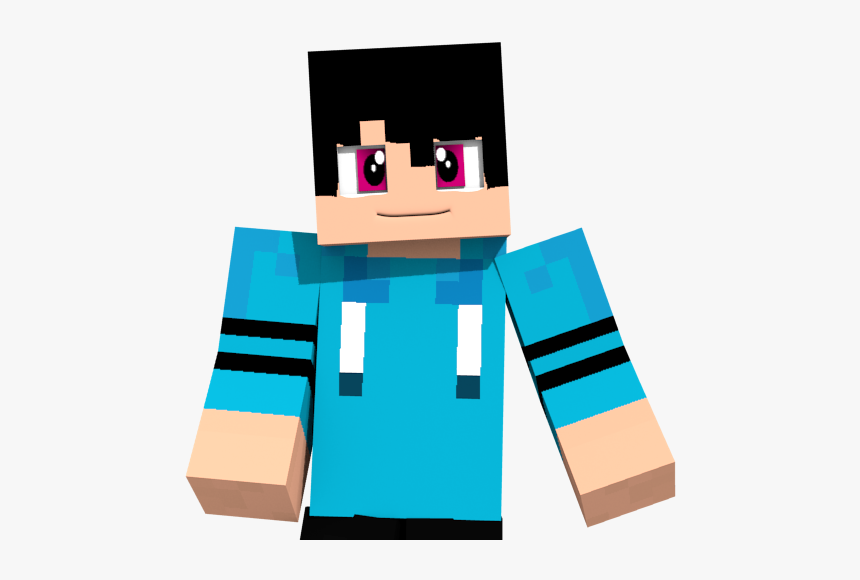 Skin Minecraft Blender By Koutatran D8j13g8 - Animated Minecraft Character Png, Transparent Png, Free Download