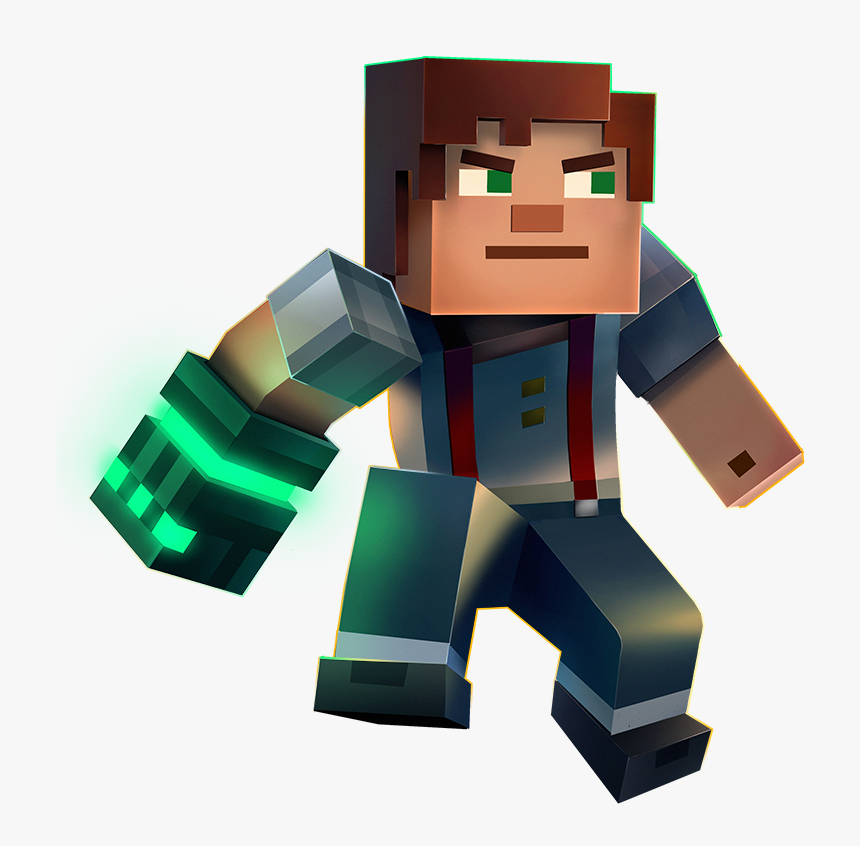 Minecraft Minecraft Story Mode Season 2 Jesse Male Hd Png