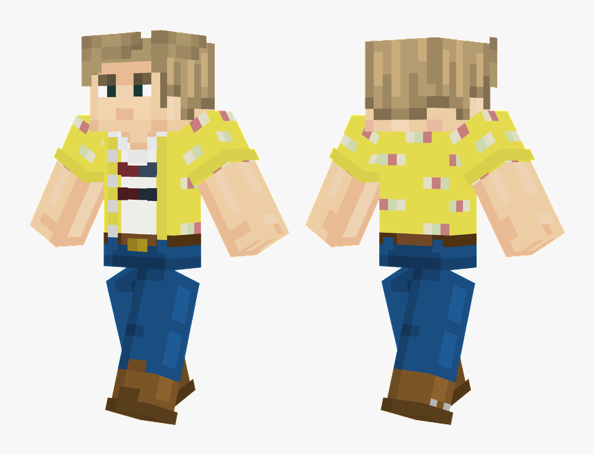 Minecraft Skin Green Steve, HD Png Download, Free Download