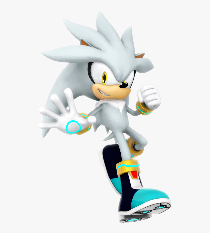 Sonic Games Silver The Hedgehog Silver Sonic The Hedgehog Characters Hd Png Download Kindpng