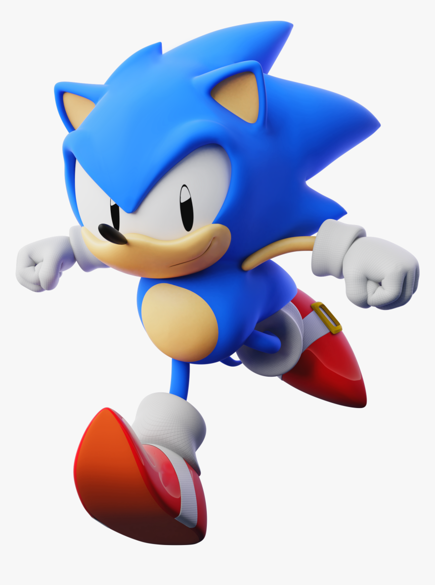 Transparent Classic Sonic Png Sonic The Hedgehog Classic Sonic Png Download Kindpng