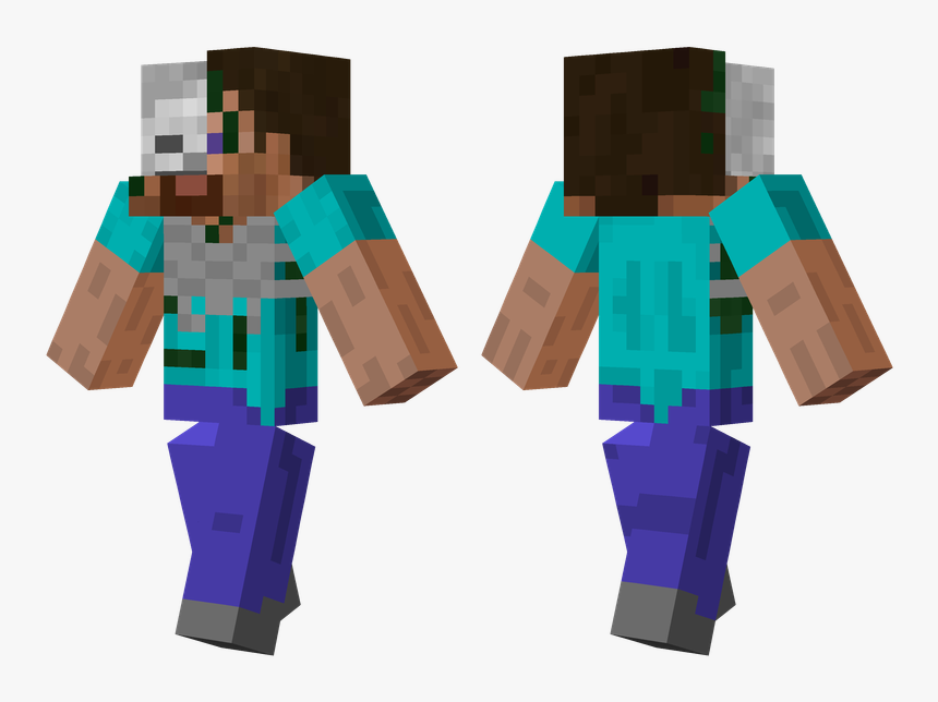 Minecraft Skin Ender Zombie , Png Download - Skin Compatibili Per Minecraft Pe, Transparent Png, Free Download