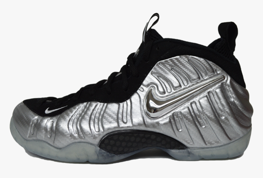 Foamposites Black And Silver, HD Png Download, Free Download