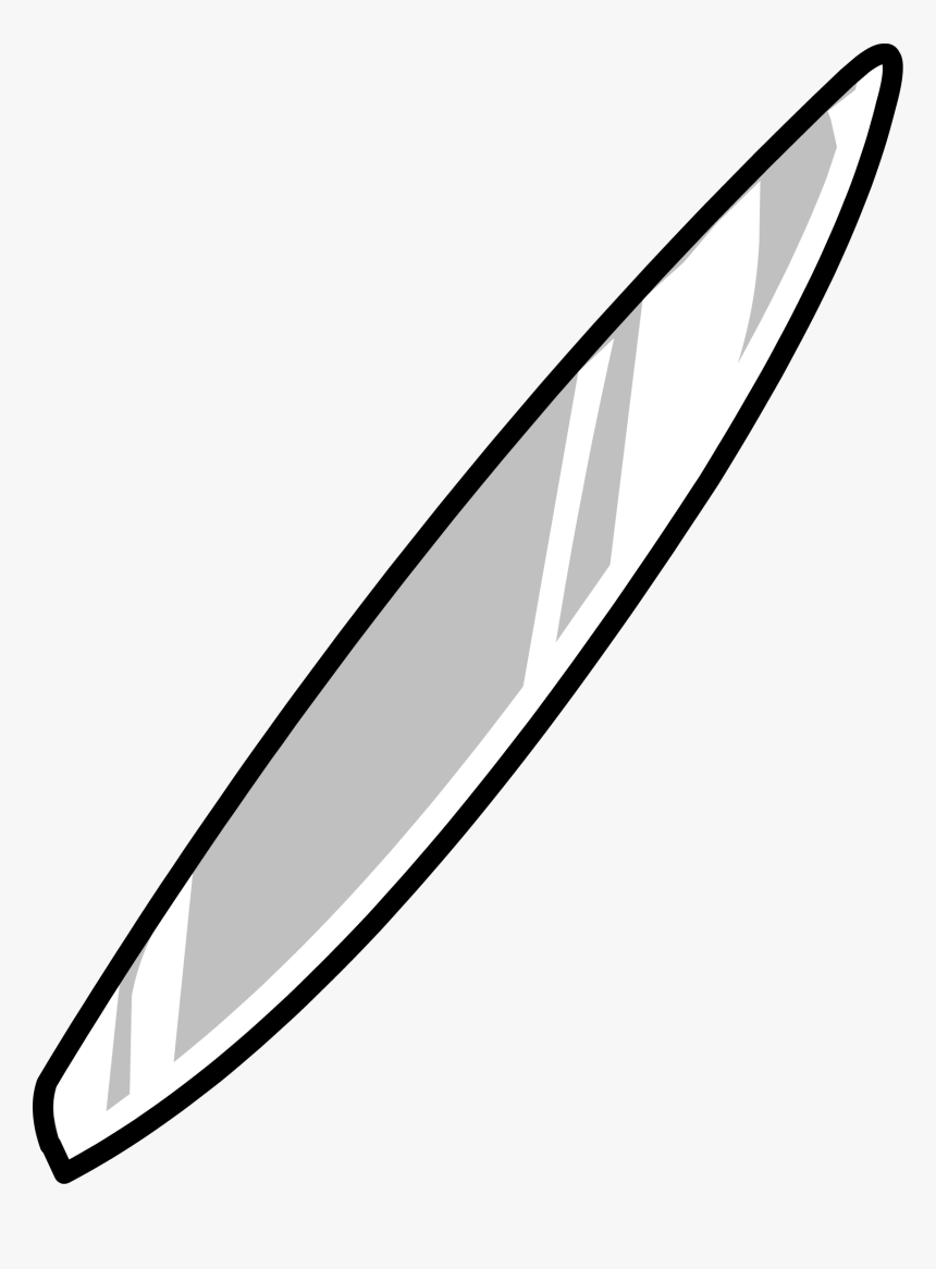 Club Penguin Rewritten Wiki - Silver Surfer Board Png, Transparent Png, Free Download