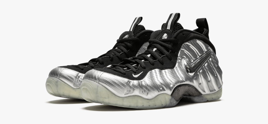 Silver Foamposites, HD Png Download
