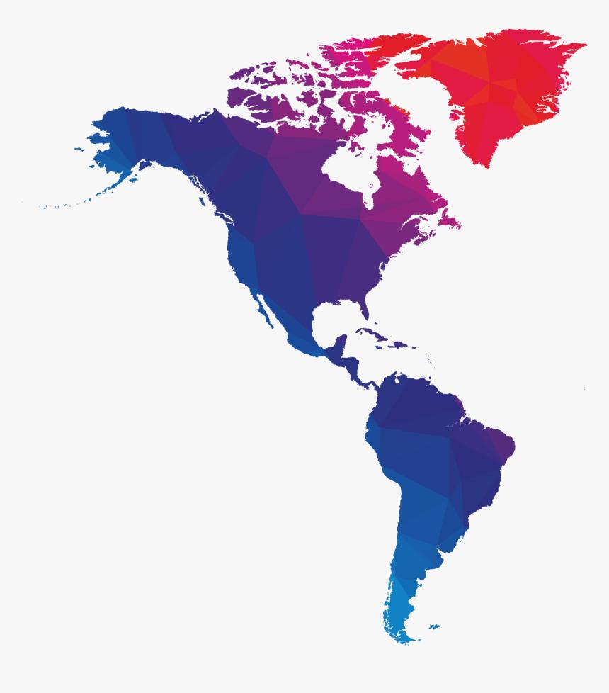 Dark Blue World Map, HD Png Download - kindpng