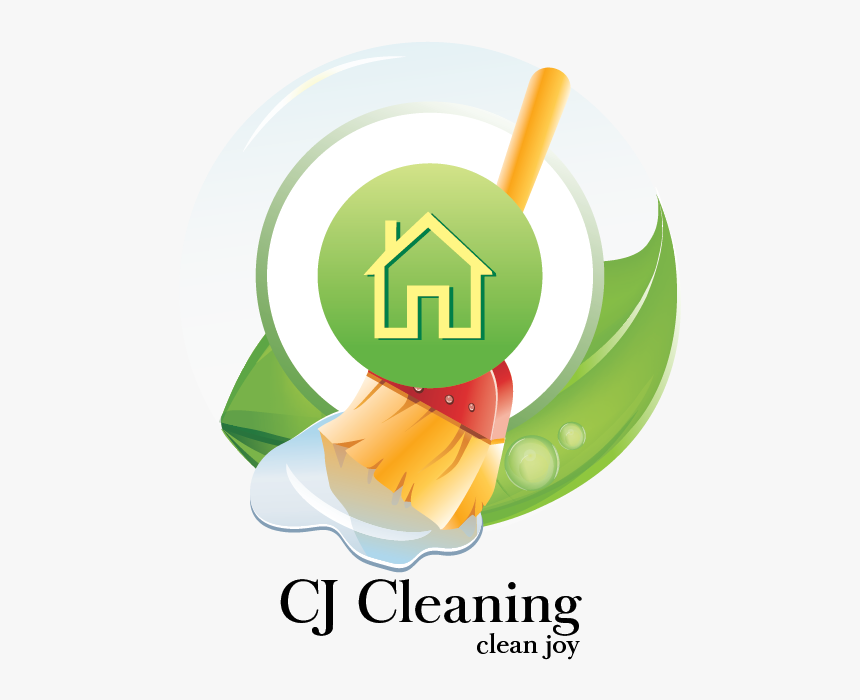 Logo Design By Rabbit For Cj Cleaning Services - Graphic Design, HD Png Download, Free Download