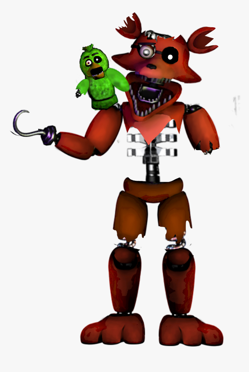 Fnaf Stylized Withered Foxy Png Foxy Withered Fnaf Fnaf Unwithered Foxy Transparent Png Kindpng