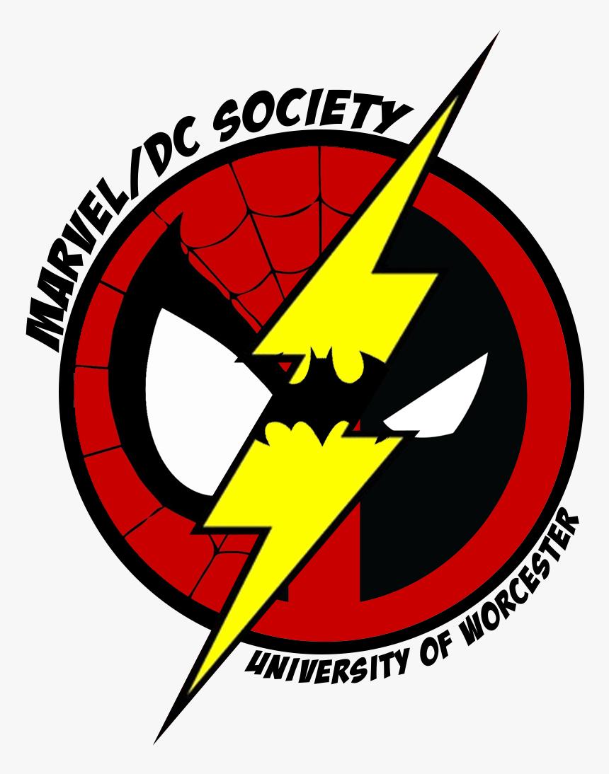Marvel Comics Logo Png Marvel And Dc Superhero Logos - Emblem, Transparent Png, Free Download