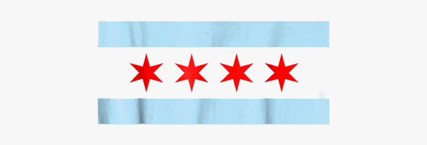 City Of Chicago Skyline Flag, HD Png Download, Free Download