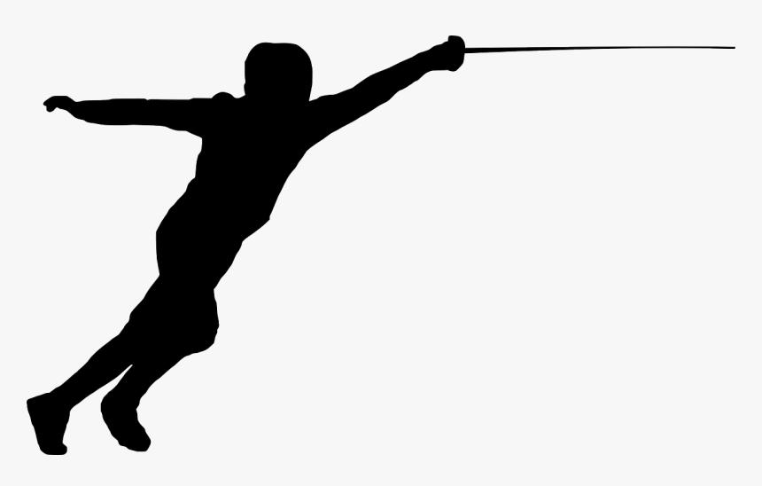 Fencer Clip Art, HD Png Download, Free Download