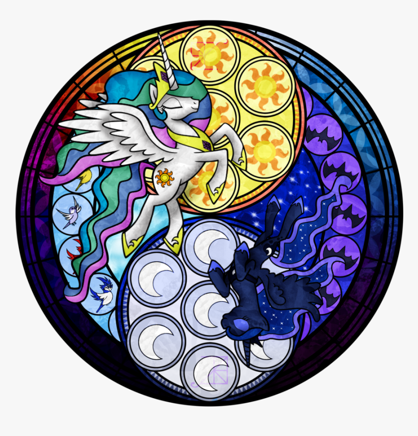 Akili-amethyst, Dive To The Heart, Kingdom Hearts, - Mlp Fim Stained Glass, HD Png Download, Free Download