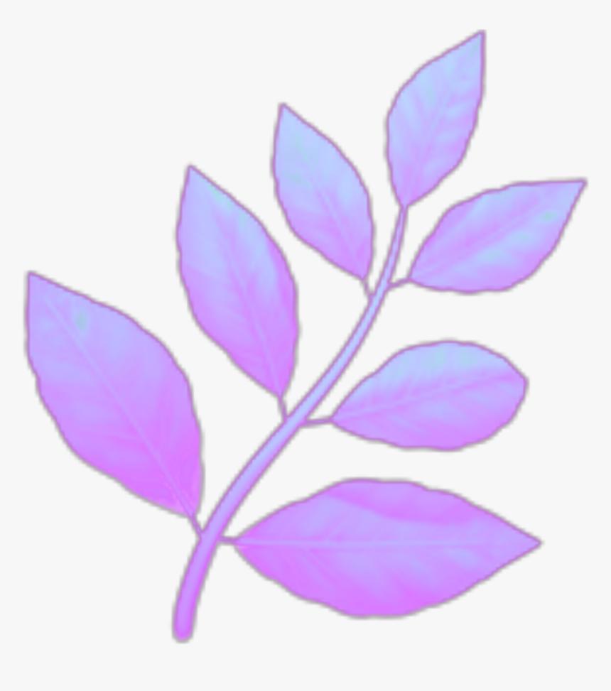 #emoji#aethstic #plant#leaves#purple - Lavender Plant Emoji, HD Png Download, Free Download