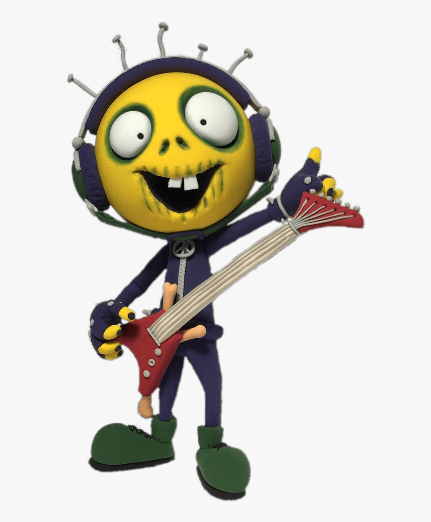 Zombill Playing His Guitar - Zombie Dumb Png, Transparent Png, Free Download