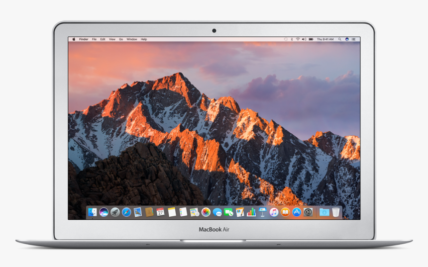 Apple Macbook Air 13.3 Laptop Mqd32ll A June 2017 Silver, HD Png Download, Free Download