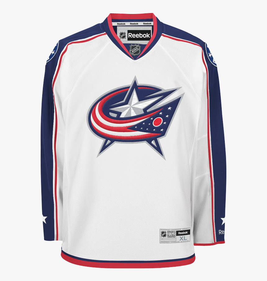 Columbus Blue Jackets White Jersey, HD Png Download, Free Download