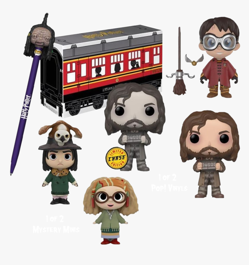 Transparent Hogwarts Express Png - Harry Potter Funko Collector Box, Png Download, Free Download