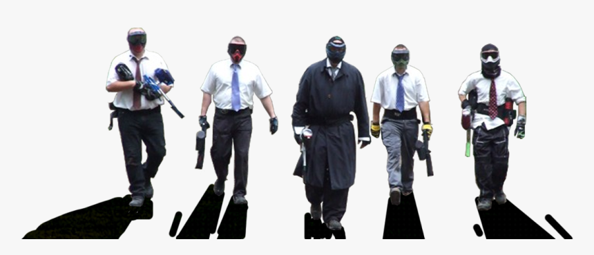 Paintball Players Png, Transparent Png, Free Download