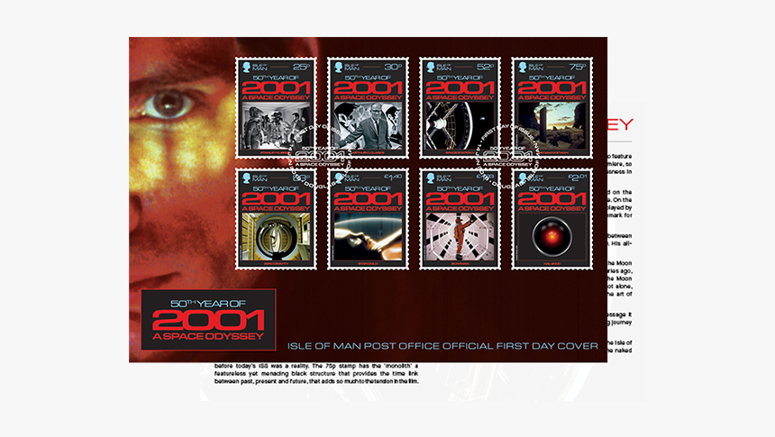 Stanley Kubrick Stamp, HD Png Download, Free Download