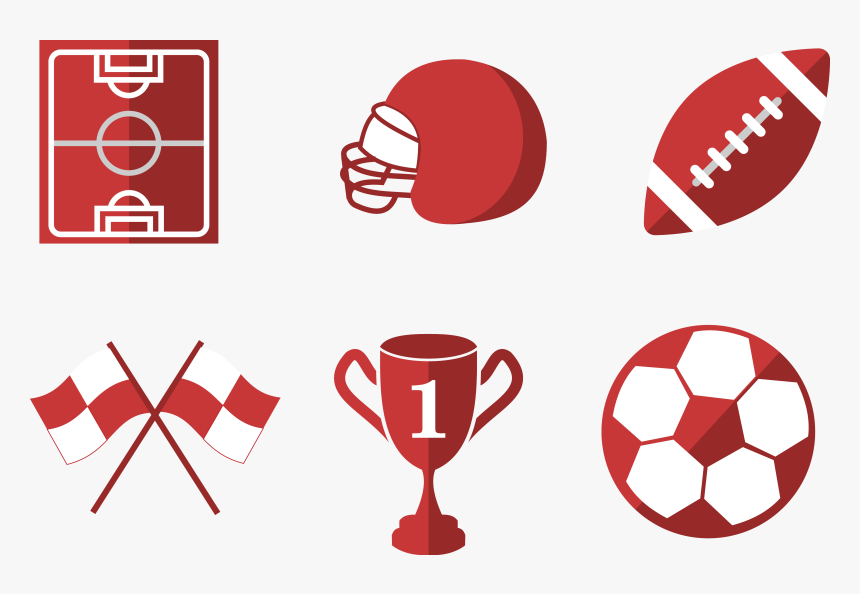 American Football Football Pitch Clip Art - Clip Art, HD Png Download, Free Download