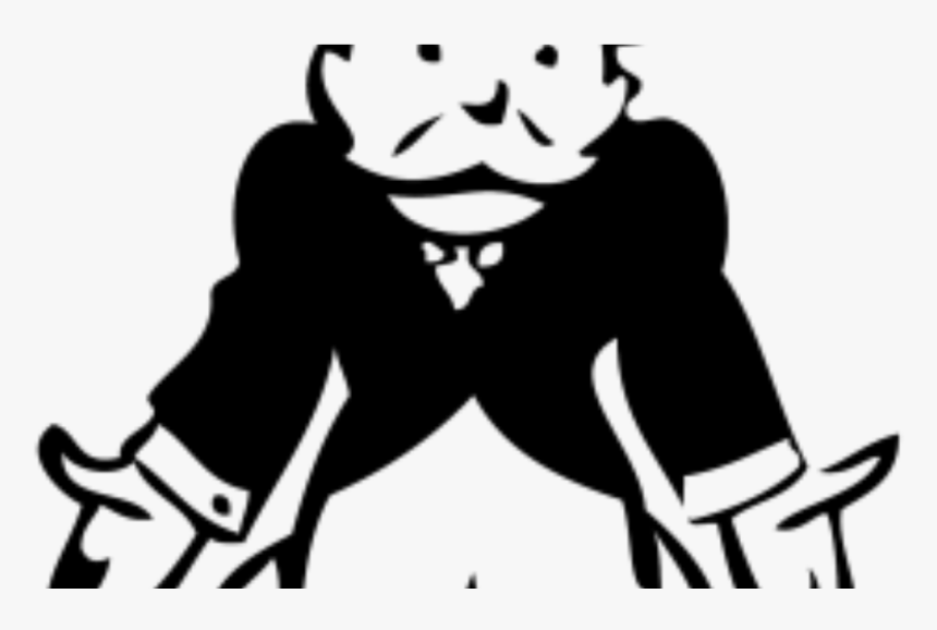 Transparent Monday Morning Clipart - Broke Rich Uncle Pennybags, HD Png Download, Free Download
