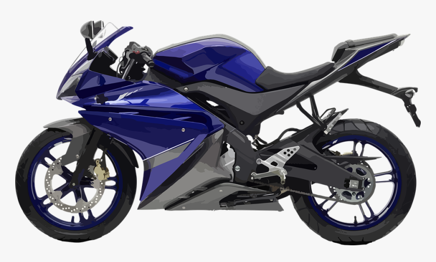 Engine, Motorcycle, Sport, Motor - Yamaha Yzf R125 2008, HD Png Download, Free Download