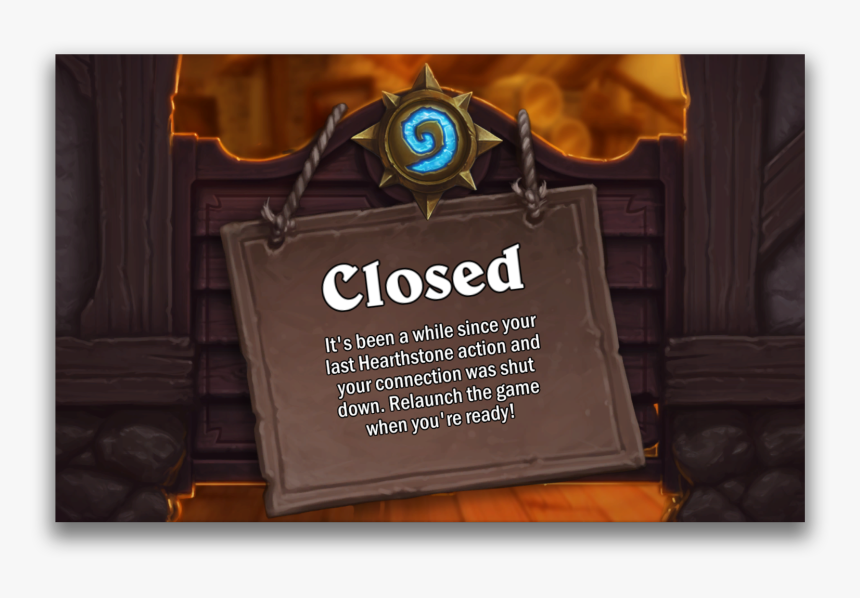 Hearthstone Your Account Has Been Banned, HD Png Download, Free Download