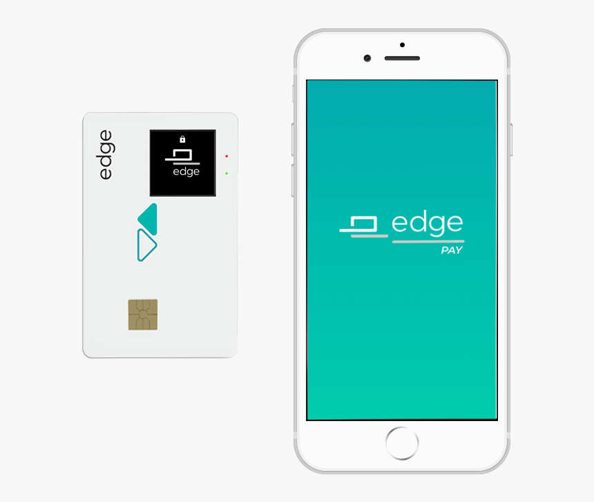 Edge White Card - Smartphone, HD Png Download, Free Download