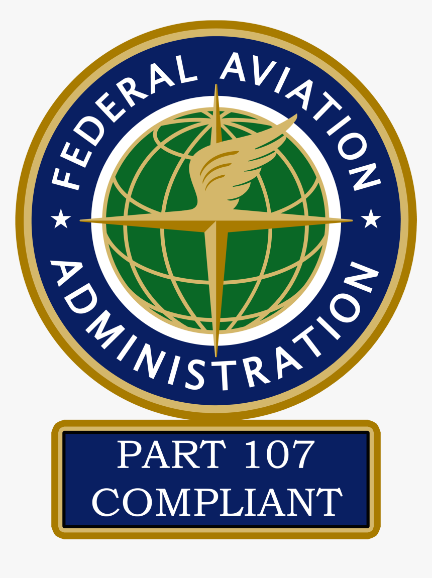 Faa Part 107 Certified, HD Png Download, Free Download