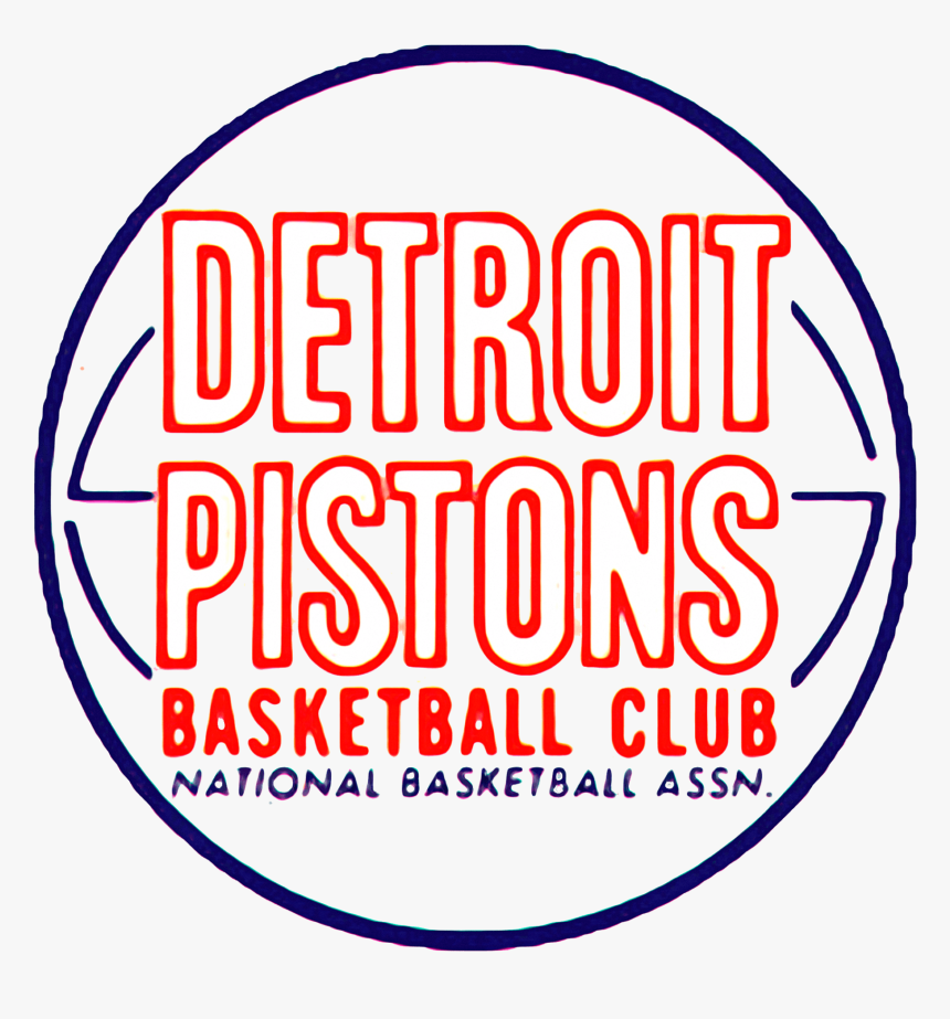 Detroit Pistons Logos No Background, HD Png Download, Free Download