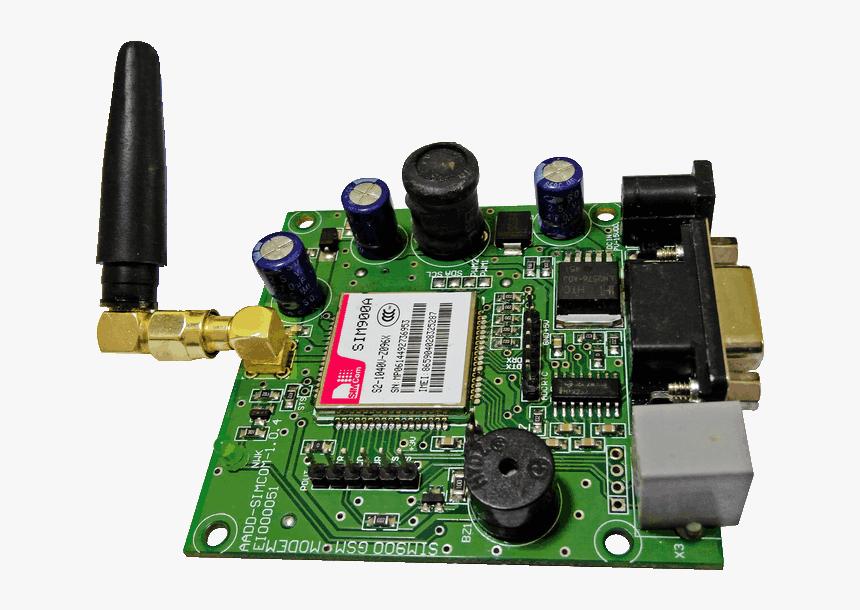 Sim900a Gsm Module Png, Transparent Png, Free Download