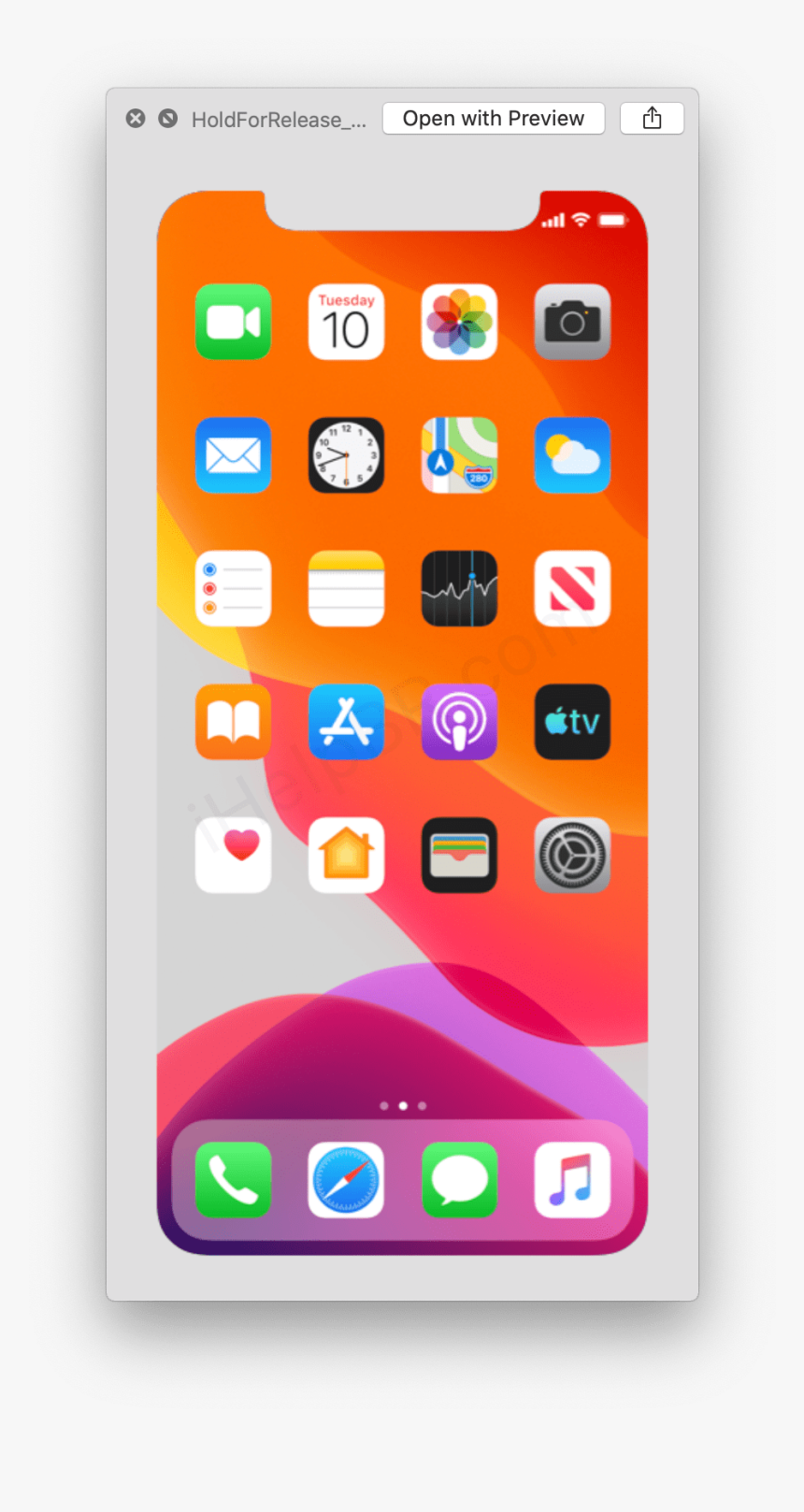Screenshot Iphone 11 Pro Max, HD Png Download, Free Download