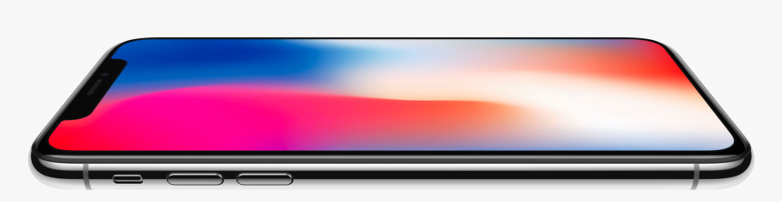 Apple Iphone X Png Image - Iphone X Horizontal Png, Transparent Png, Free Download