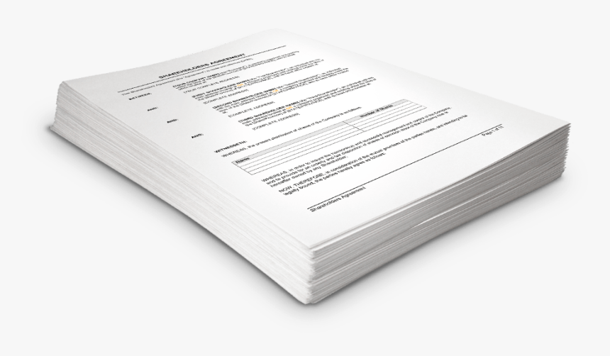 Stack Of Legal Documents, HD Png Download, Free Download