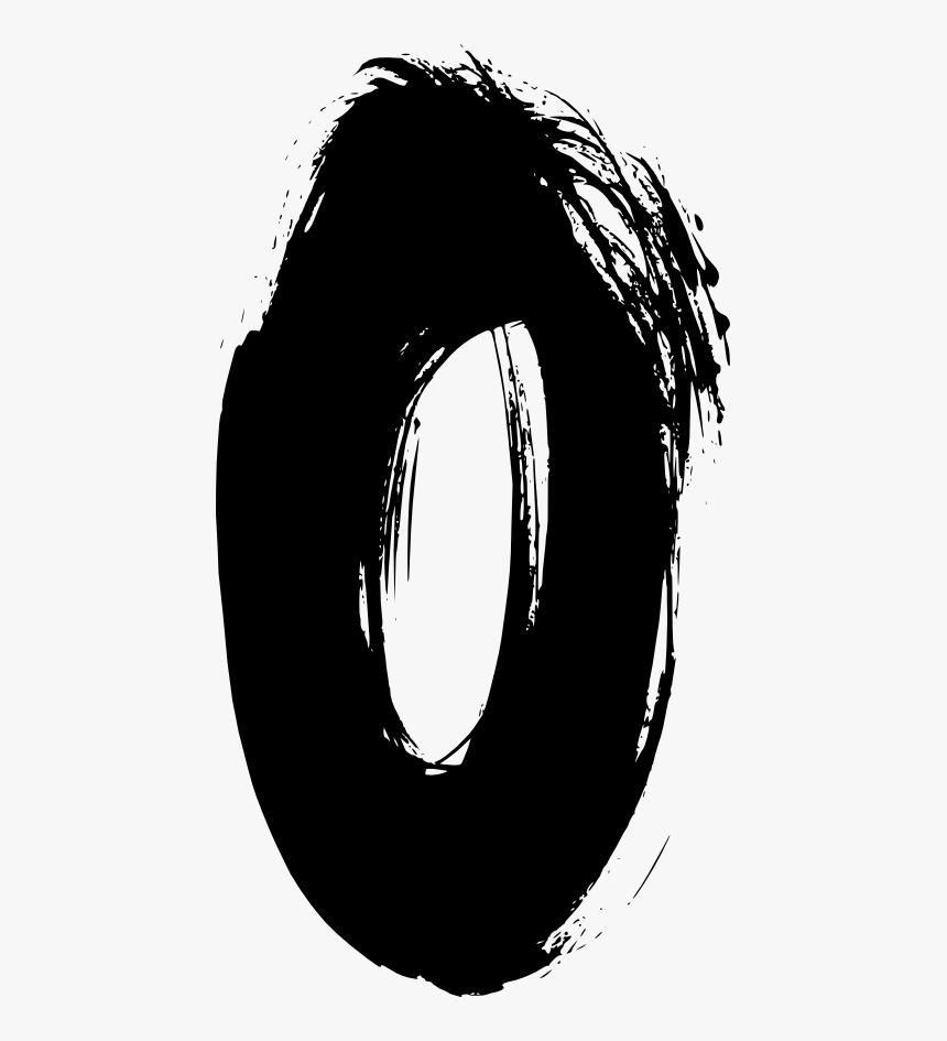 Circle - Free Number 0 Png, Transparent Png, Free Download