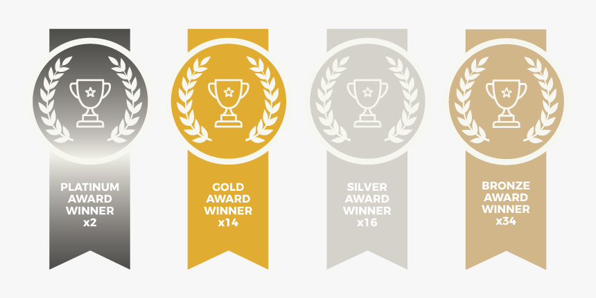 Platinum Gold Silver Award, HD Png Download, Free Download