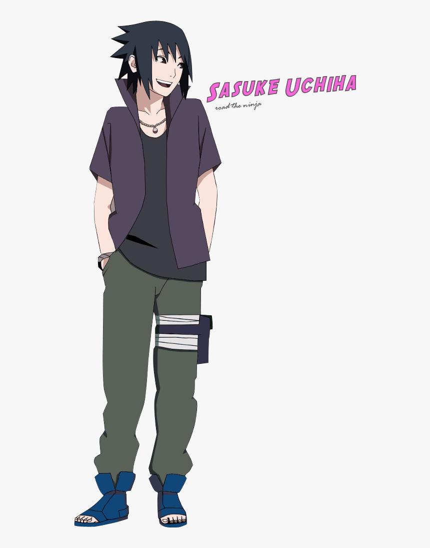 Sasuke Uchiha Road The Ninja By Rokkx-d5h4d4x - Sasuke Uchiha Road To Ninja, HD Png Download, Free Download
