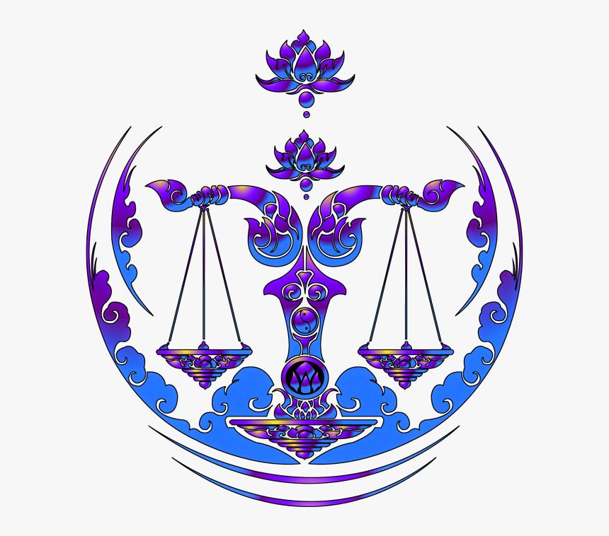 Libra Vector Balance - Libra Zodiac Sign Logo, HD Png Download, Free Download