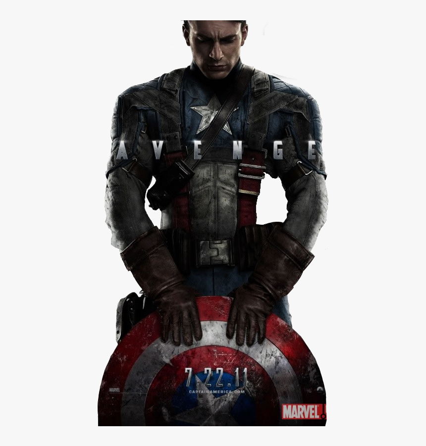 Captain America With His Shield, HD Png Download, Free Download