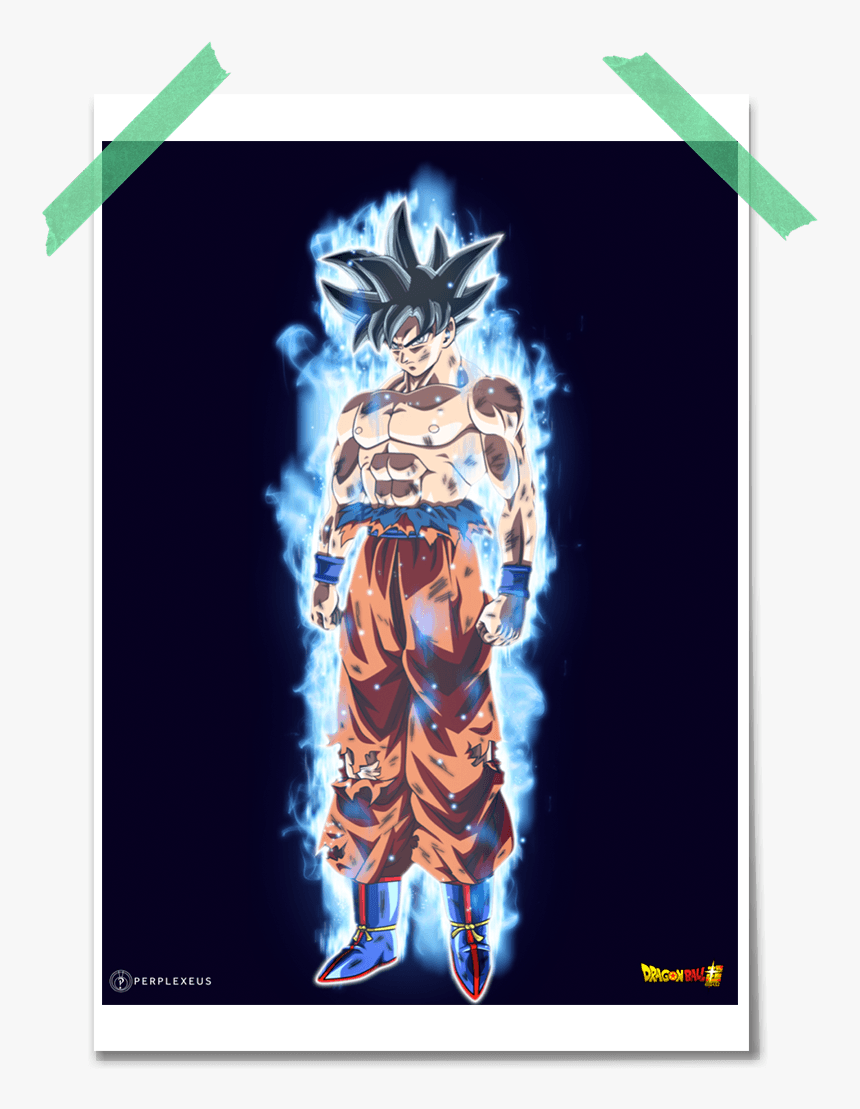dragon ball super goku ultra instinct ui incomplete goku para fondo de pantalla hd png download kindpng goku para fondo de pantalla hd png