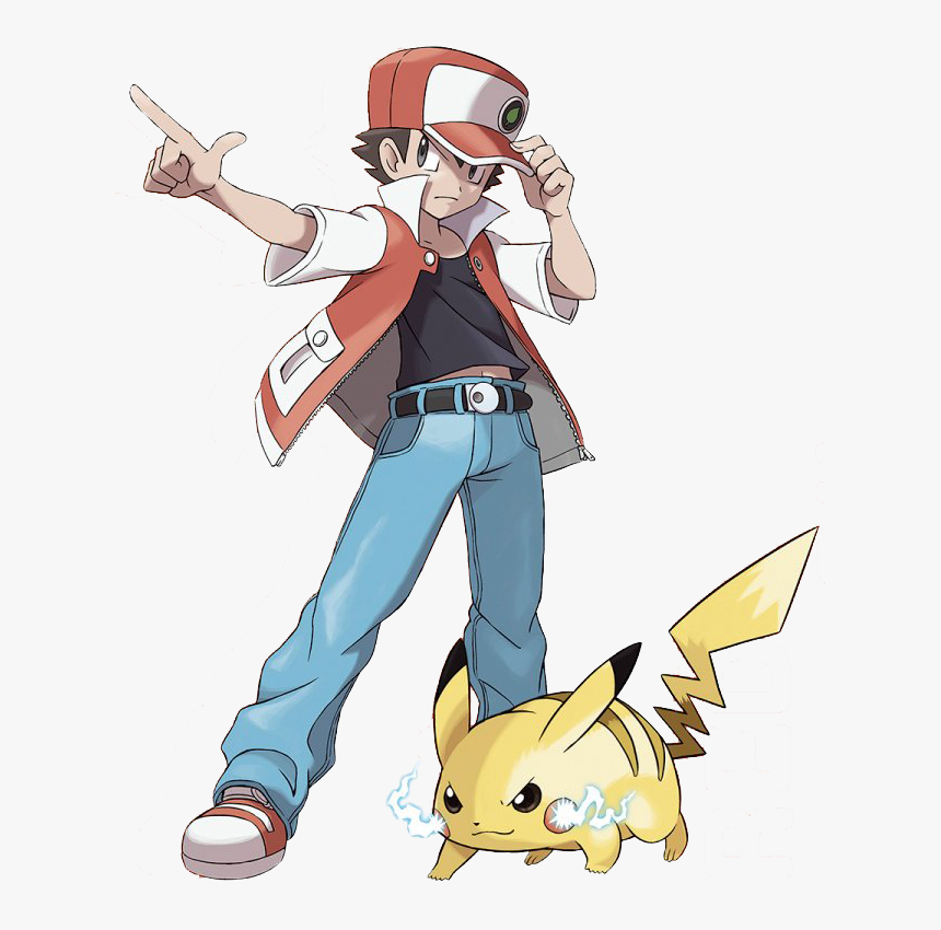 Pokemon Trainer Red, HD Png Download, Free Download