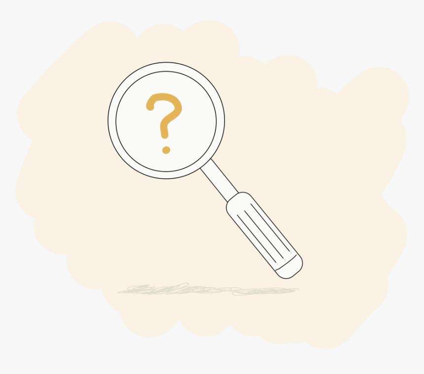 magnifying glass illustration ui vector illustration illustration hd png download kindpng kindpng