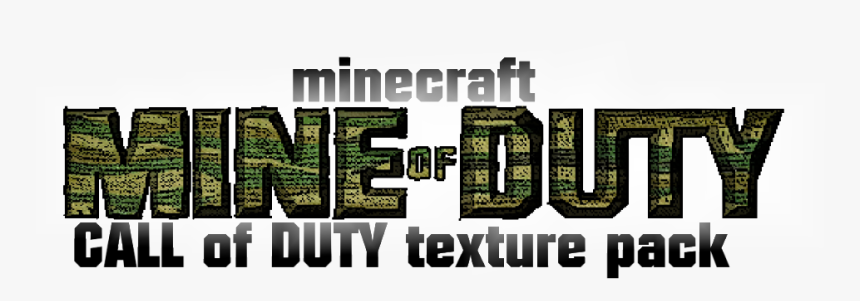 Http - //img - 9minecraft - Net/texturepack1/call Of - Graphic Design, HD Png Download, Free Download