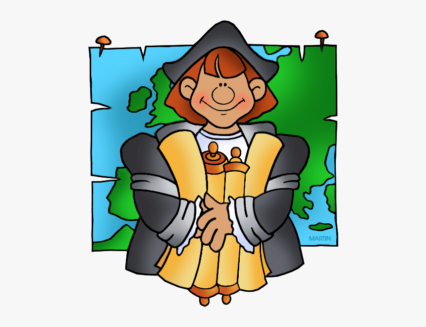 Clip Art Picture Royalty Free - Cartoon Christopher Columbus Clipart, HD Png Download, Free Download